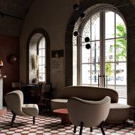 Buhairest bar, designed by Roman Plyus