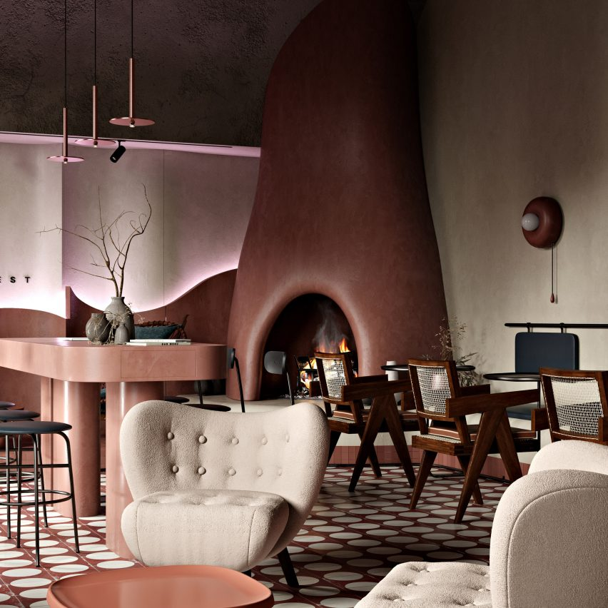 Roman Plyus designs Buhairest bar in Hungary to look good on Instagram