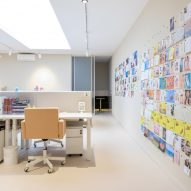 Amsterdam office of &C, designed by Anne Claus Interiors
