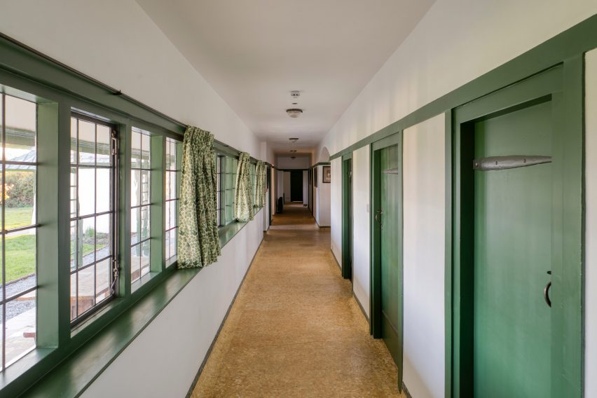 CFA Voysey's Winsford Cottage Hospital in Devon, UK, by Benjamin + Beauchamp Architectsfor the Landmark Trust