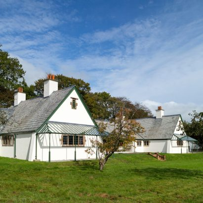CFA Voysey's Winsford Cottage Hospital in Devon, UK, by Benjamin + Beauchamp Architects for the Landmark Trust