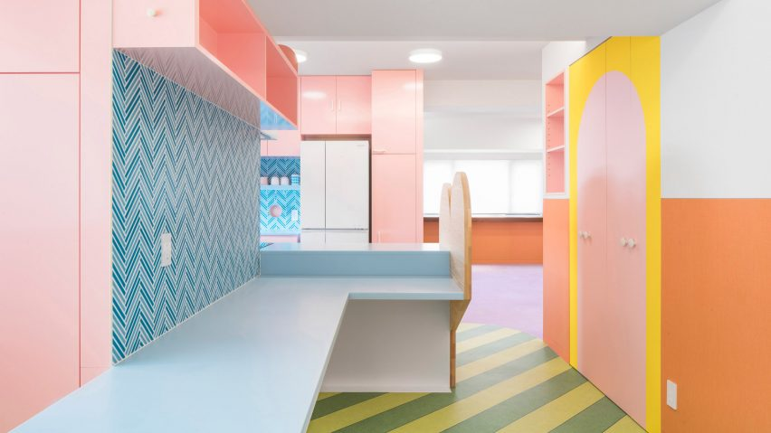 Colourful homes roundup: