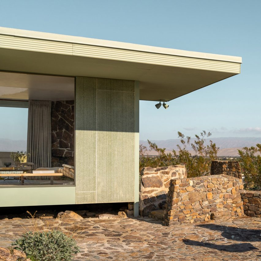 Albert Frey's modernist Cree House in Palm Springs revealed in new photos