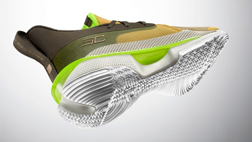 Curry 7 Our History basketball shoe on David Adjaye's African-American history museum