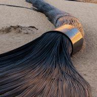 Desert X installs 14 site-specific works in Saudi Arabian desert