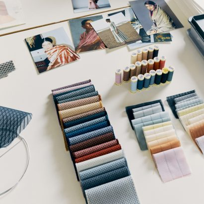 Doshi Levien designs Maya and Jaali fabrics for Kvadrat