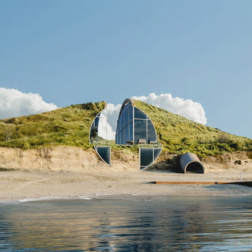 Studio Vural imagines off-the-grid Dune House for Cape Cod