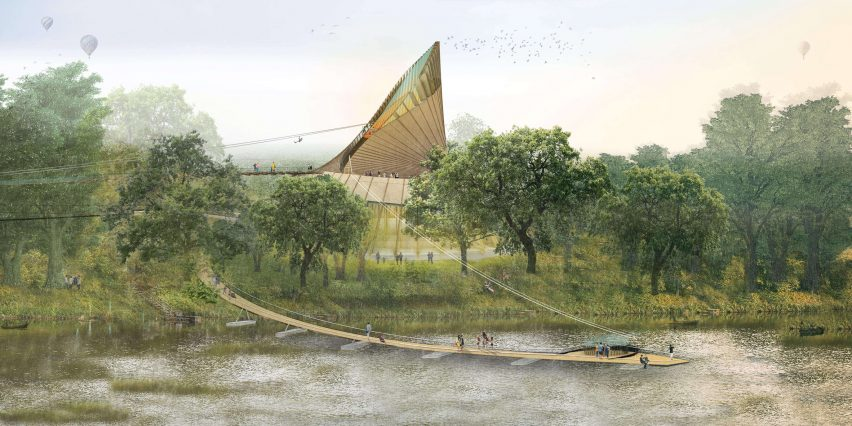 Eden Project Foyle by Grimshaw for Northern Ireland