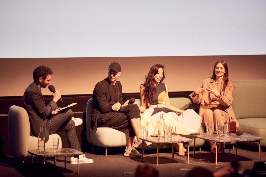 Entrepreneur panel at Dezeen Day 2019