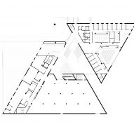 Eskenazi Museum Renovation bu Ennead Architects First Floor Plan