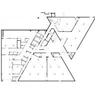 Eskenazi Museum Renovation bu Ennead Architects Ground Floor Plan