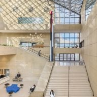 IM Pei's Eskenazi Museum renovated with subtle additions in Indiana