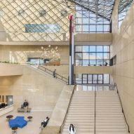 IM Pei's EskenaziMuseum renovated with subtle additions in Indiana