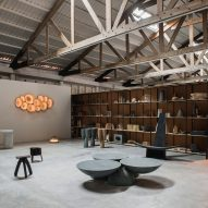 EWE Studio turns dance hall into its showroom in Mexico City's Roma Norte