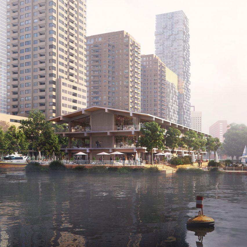 Floating Office Rotterdam by Powerhouse Company