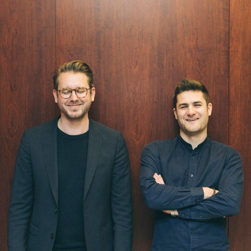 Stijn Geeraets and Maarten Van Gool, founders of Fosbury & Sons