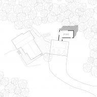 Gelah Penn Studio by O'Neill McVoy Site Plan