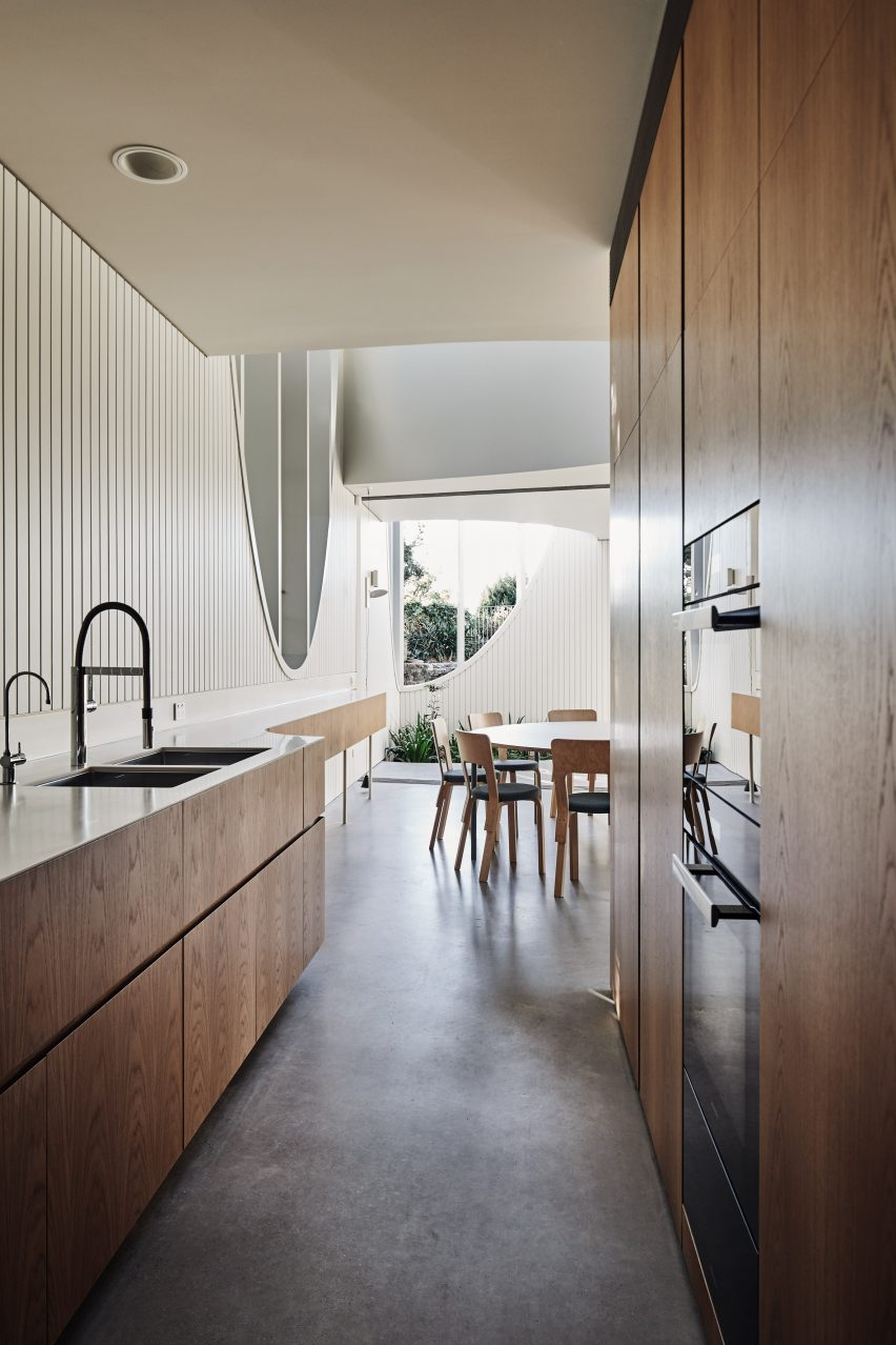 Glebe House by Chenchow Little Architects kitchen