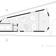 Glebe House by Chenchow Little Architects ground floor plan