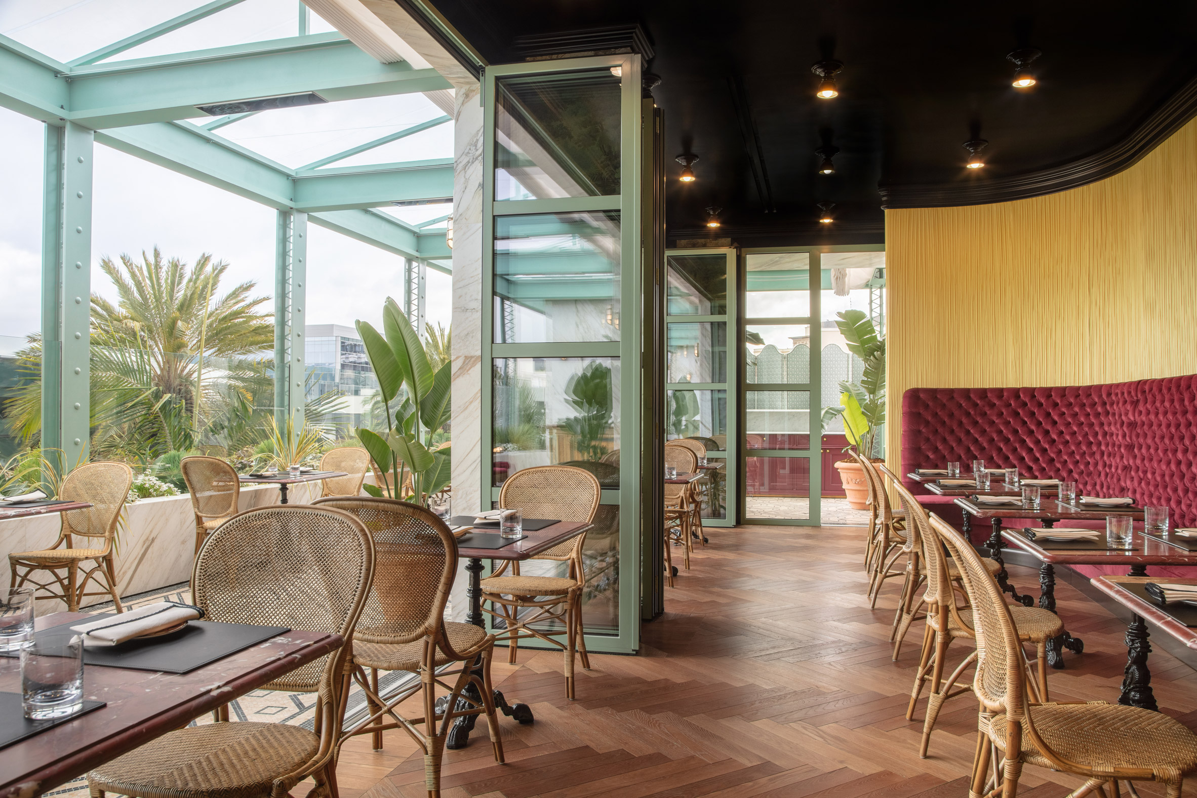 Gucci Osteria da Massimo Bottura restaurant in Los Angeles