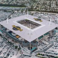 Watch drone footage of the Super Bowl 2020 stadium