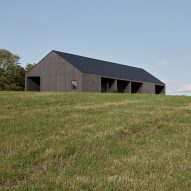 Hass House by Feuerstein Quagliara is designed to embrace New York's pastoral scenery