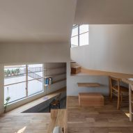 House in Takatsuki by Tato Architects levels
