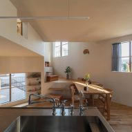 House in Takatsuki by Tato Architects kitchen