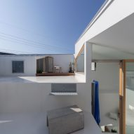 House in Takatsuki by Tato Architects roof terrace