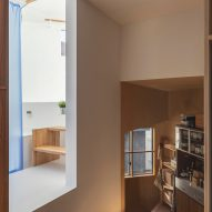 House in Takatsuki by Tato Architects bathroom