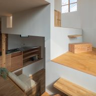 House in Takatsuki by Tato Architects steps