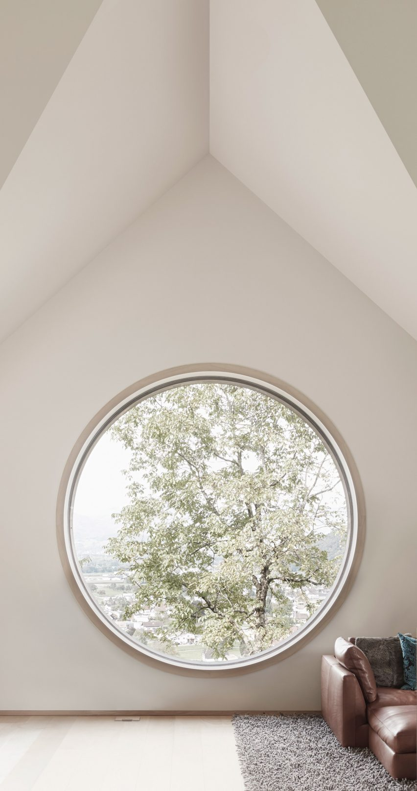 House with Three Eyes by Innauer-Matt Architekten window