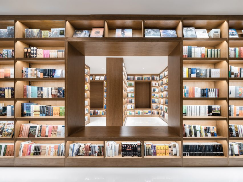 Hubei Foreign Language Bookstore by Wutopia Lab