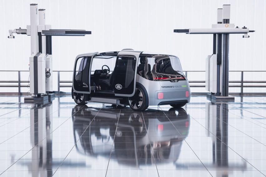 Jaguar Land Rover designs electric mobility platform for private and shared ownership