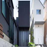 Skinny house squeezed into dense Tokyo neighbourhood