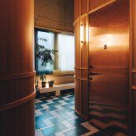 K5 Tokyo hotel by Claesson Koivisto Rune corridor