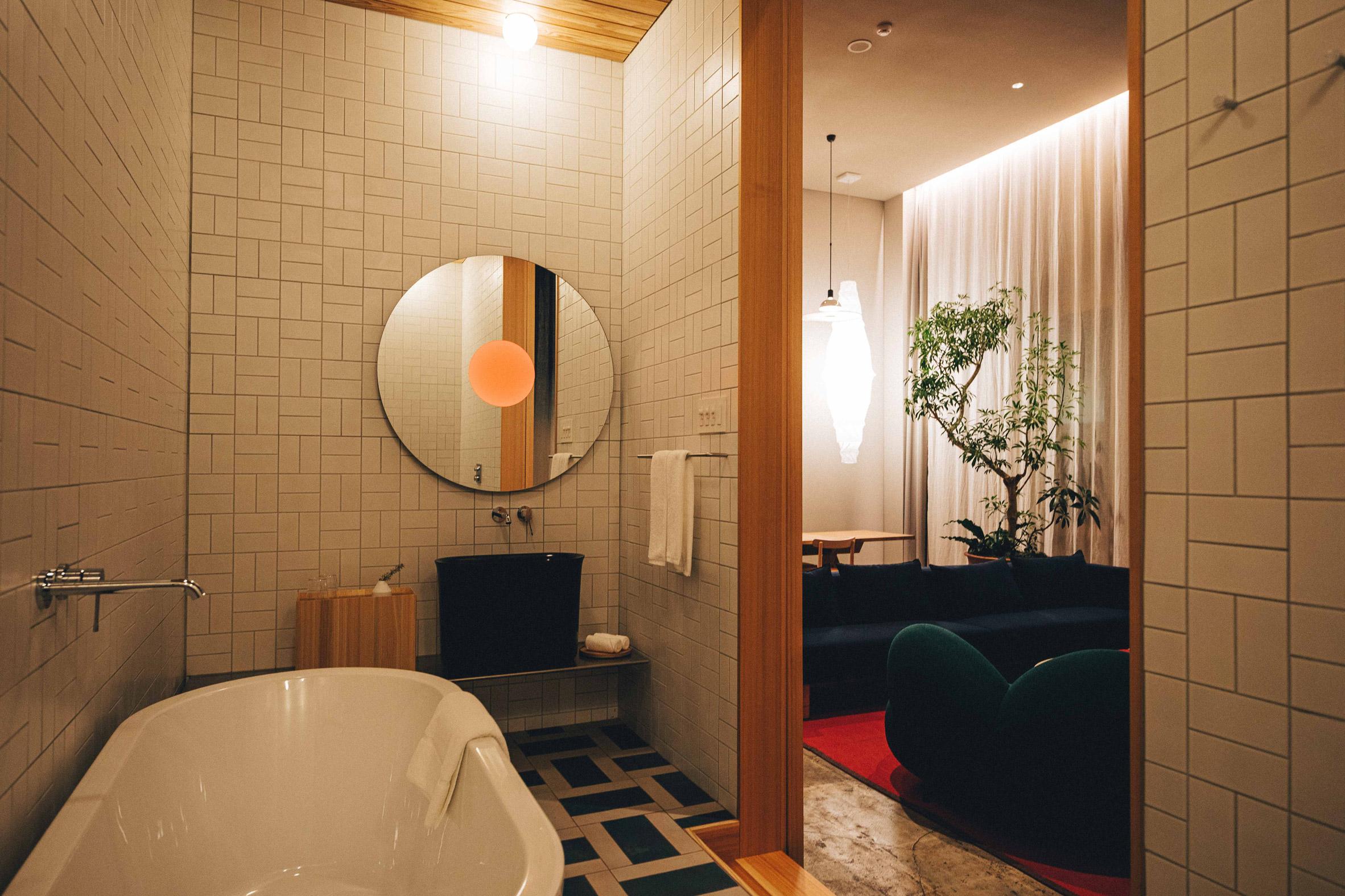 K5 Tokyo hotel by Claesson Koivisto Rune bathroom