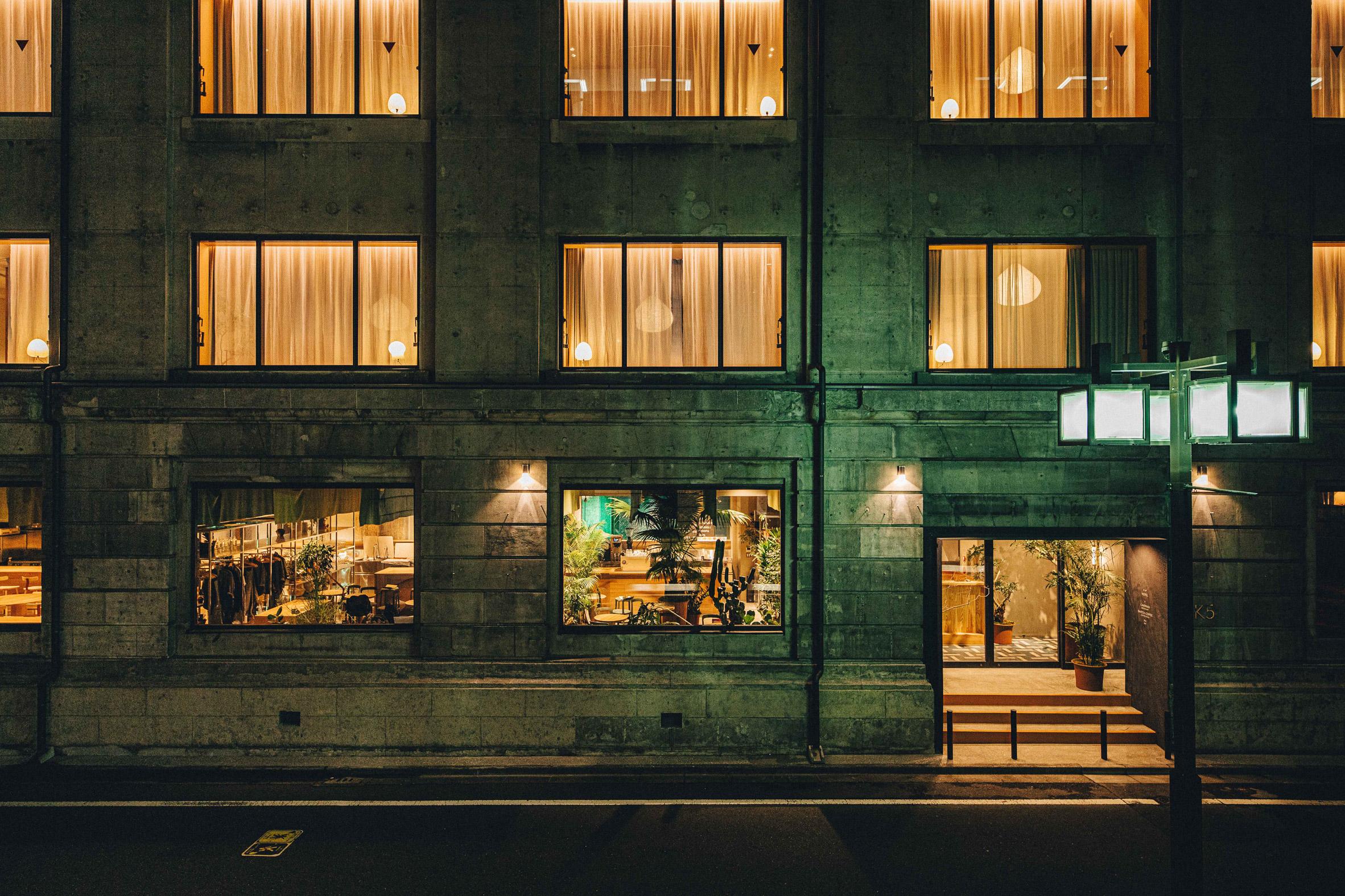 K5 Tokyo hotel by Claesson Koivisto Rune exterior