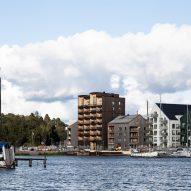 Sweden's tallest timber tower, Kajstaden, by CF Møller