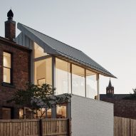 Double-height extension brings light to Melbourne's Lantern House