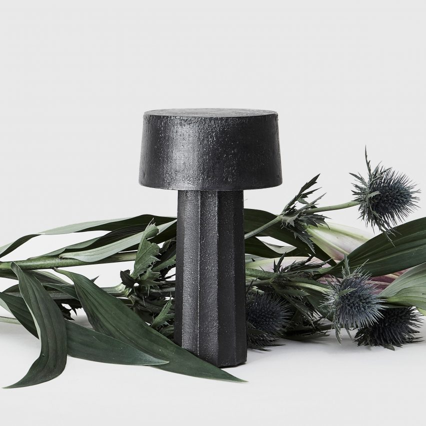 """Lewis Power's debut collection explores materials """"owning"""" the objects"""
