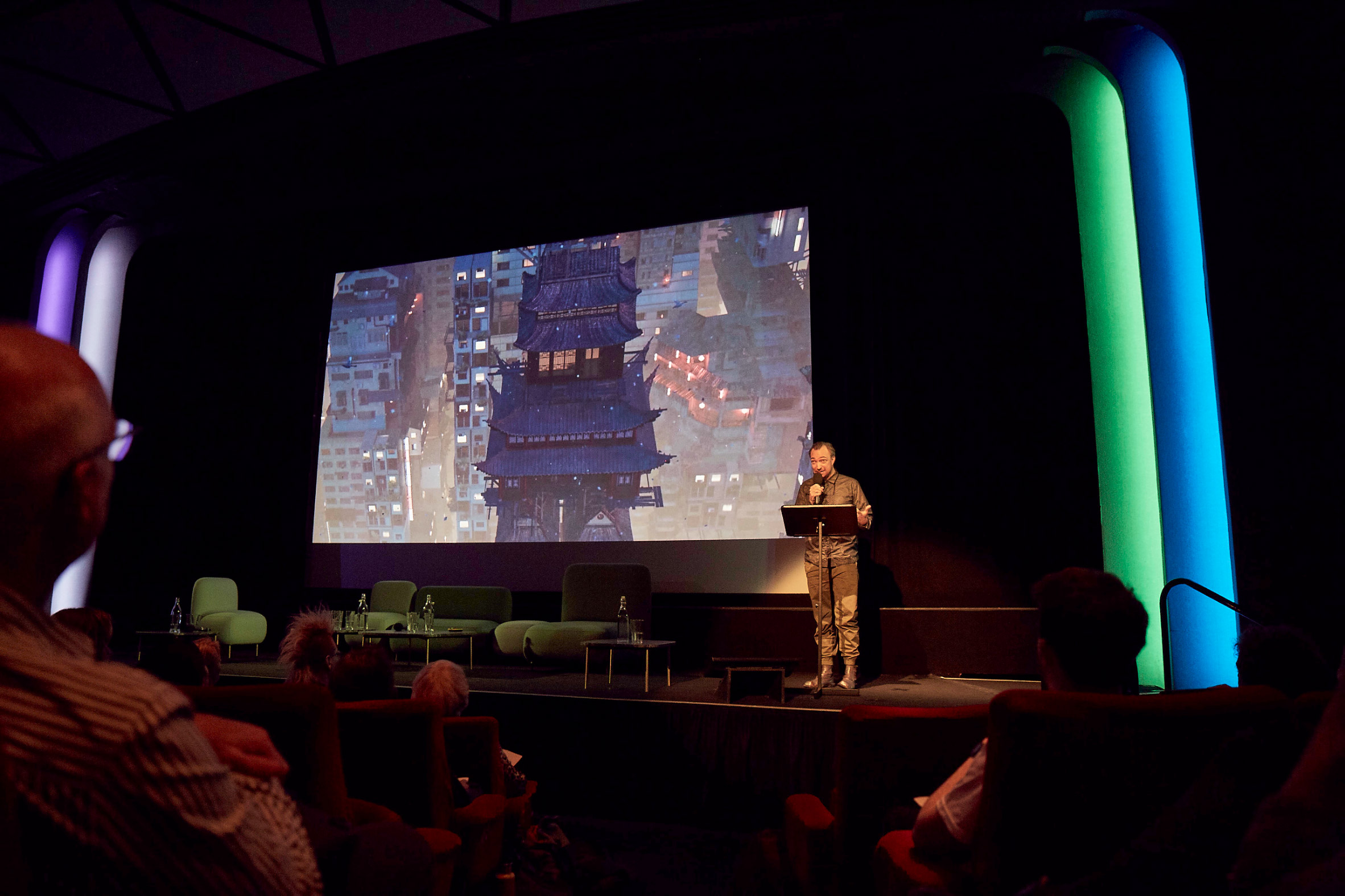Liam Young at Dezeen Day