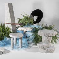 Estonian Academy of Arts students create furniture from raw limestone