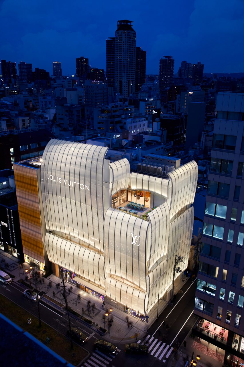 Louis Vuitton's flagship Osaka store by Jun Aoki and Peter Marino