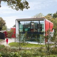 Ab Rogers Design harnesses colour for Royal Marsden Maggie's Centre