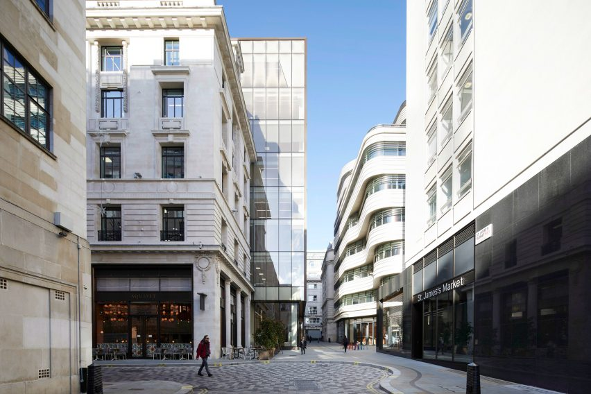 Make uses bronze and stone for St James's Market redevelopment