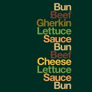 Minimalist McDonald's adverts feature ingredients lists but no brand name