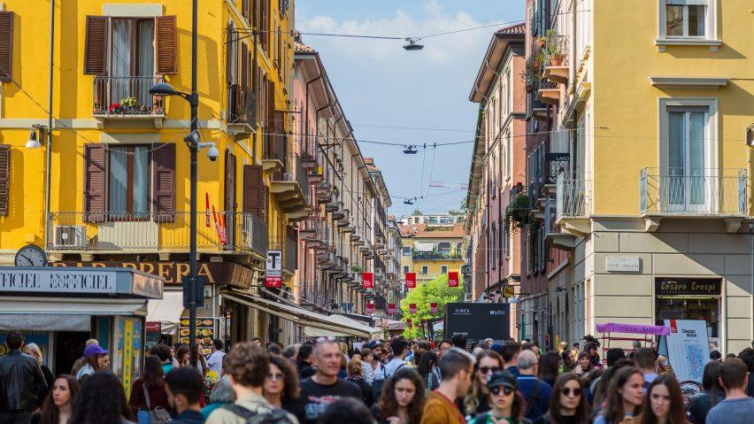 Brera Design District at Milan design week