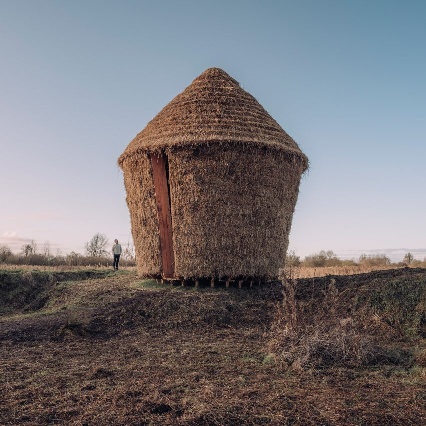 Mother thatched hut by Studio Morison