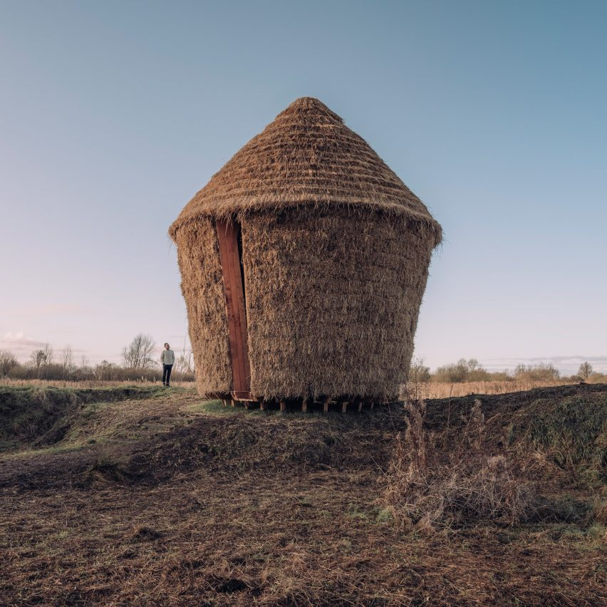 Top 10 British architecture projects of 2020: Mother thatched hut by Studio Morison